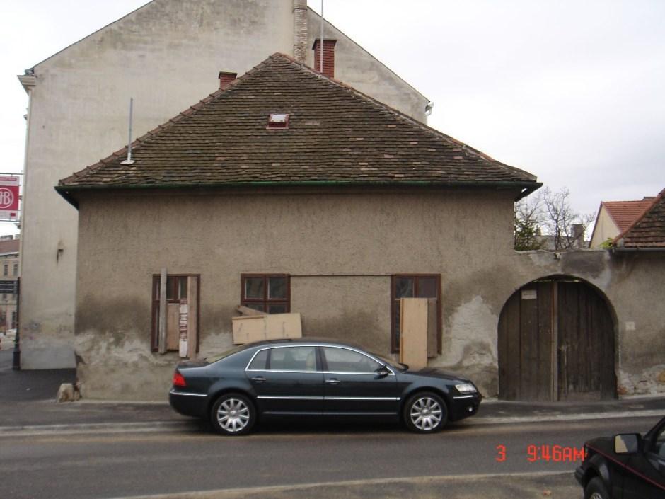 tacsifoto: Sopron, Ógabona tér 48. ház kb. 2005-ben - indafoto.hu