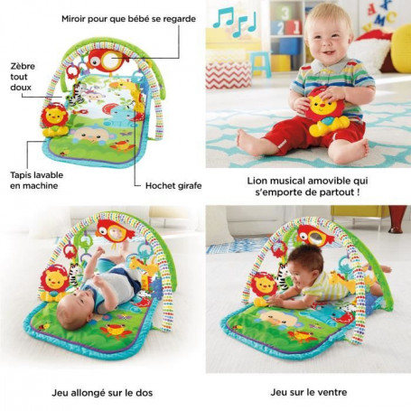 fisher price tapis d eveil amis de la jungle 3