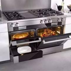 Miele Kitchen Appliances Pine Island 世界顶级厨电品牌 豪宅里那些叫不出名字的逆天设备 界面新闻 生活 秉持着线条简洁明晰和外型经典优雅的设计信条 其嵌入式厨房电器风格多变 且在设计线条和选择颜色时保持一致 适合最多样的室内设计和厨房家具前端 无论家中的