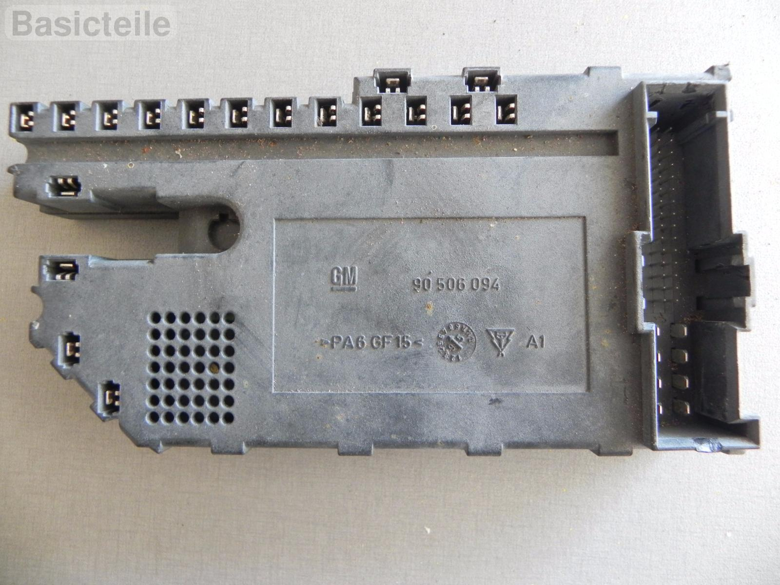 hight resolution of opel vauxhall vectra b fuse box multimeter 90506094 ebay opel ascona b opel vectra b fuse