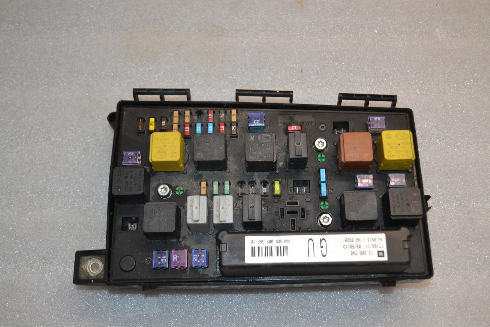 hight resolution of opel zafira b astra h 1 7cdti sicherungkasten 13206748 gu fuse box
