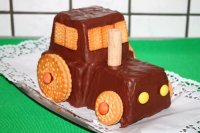 Schneller Traktor-Kuchen - Rezept | Kochrezepte.at