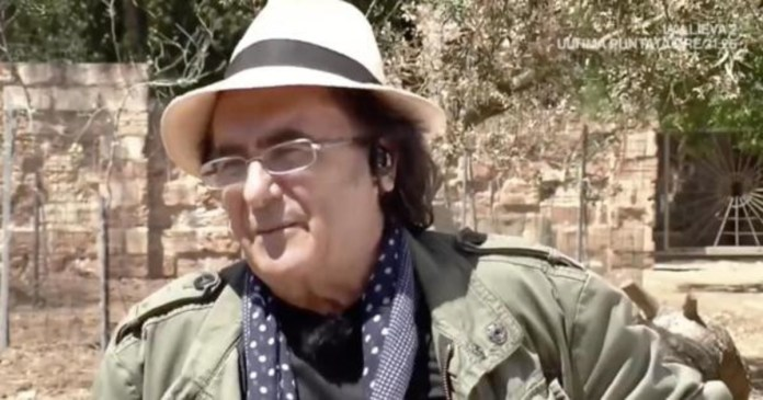 Man has been able to do this. Bewilderment and frost: Al Bano's sensational gaffe on dinosaurs (live on TV)