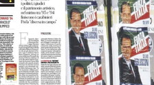 Mafia, bombs and .... Done daily without shame, the shocking page of mud against Berlusconi | Look