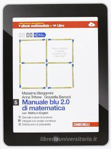 Manuale Blu 20 Di Matematica Multimediale Per Le Scuole Superiori Con E Book Con Espansione Online Vol5