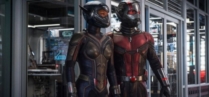 Image result for Ant-Man and the Wasp Suit Up