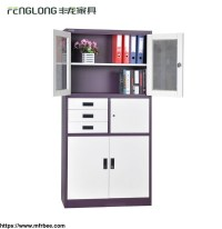 China Supplier Filing Cabinet With 3 Drawers 2 Doors Small ...
