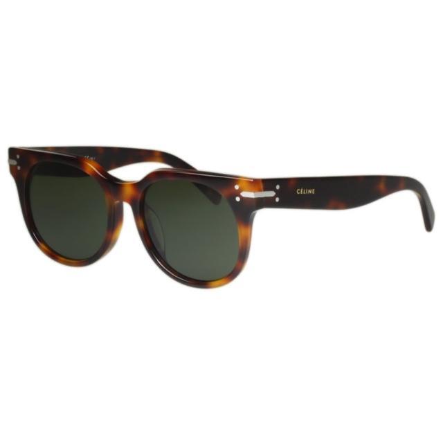 【CELINE】-低調復古 太陽眼鏡(琥珀色)