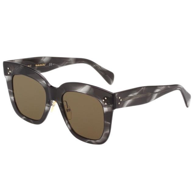 【CELINE】修臉款 太陽眼鏡 CL41444S(大理石紋)