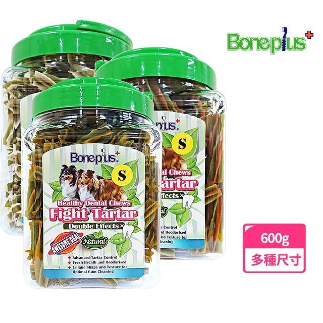 【Bone plus】六星雙效薄荷草本潔牙棒小桶裝700G(3種尺寸)