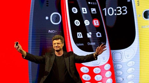 Финны показали обновленную Nokia 3310