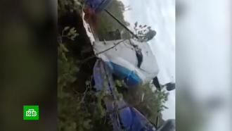 Die Tafel wird umdrehen, die Nase wird zerstört: Die starre Landung von <nobr> an-28 </ nobr> ohne schwer verletztes, als Wunder genannt