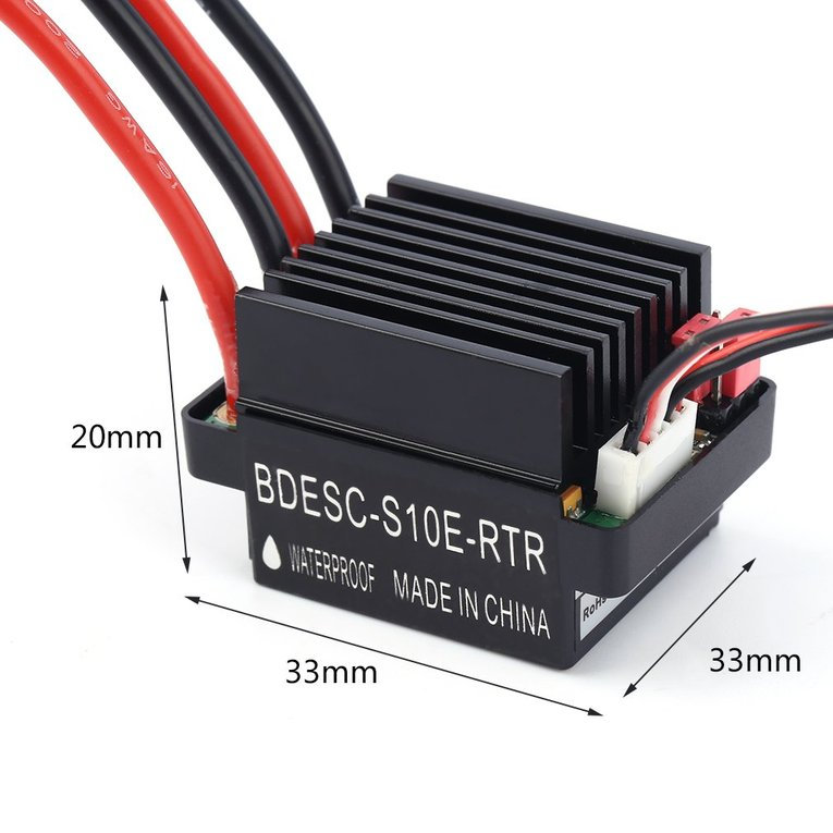 Highrate Speed Control With Battery Eliminator Circuit Bec
