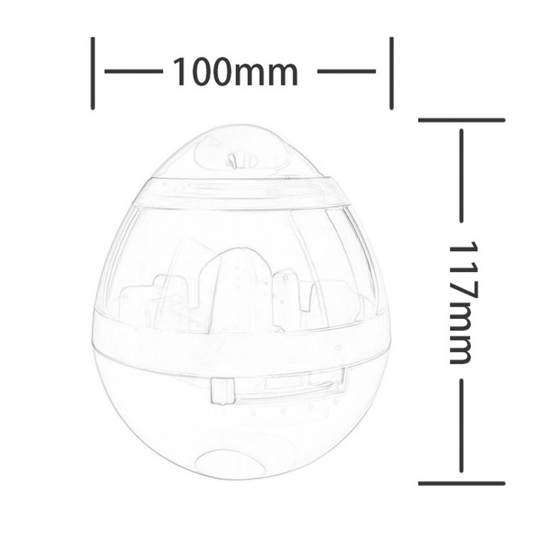 funny exercise diagram intercom wiring pets cat dog tumbler leakage food ball dogs cats training item specifics