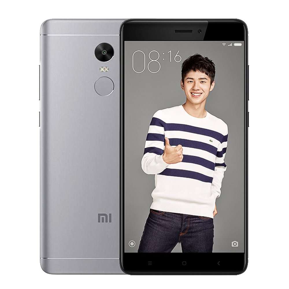 Mi Xiaomi Redmi Note 4X Smartphone 5.5 Inch 3+16G Fingerprint ID 13MP gray price in Nigeria