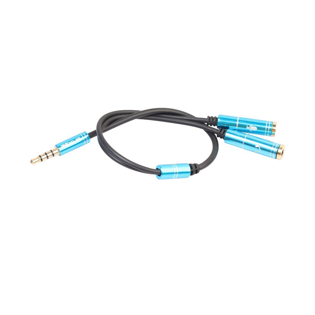 Gold-plated Aluminum 3.5mm Mobile Phone Headset Microphone