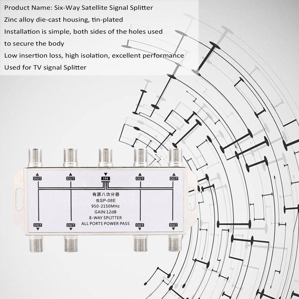 hight resolution of 8 way port tv signal satellite sat coaxial diplexer combiner splitter combiner kz