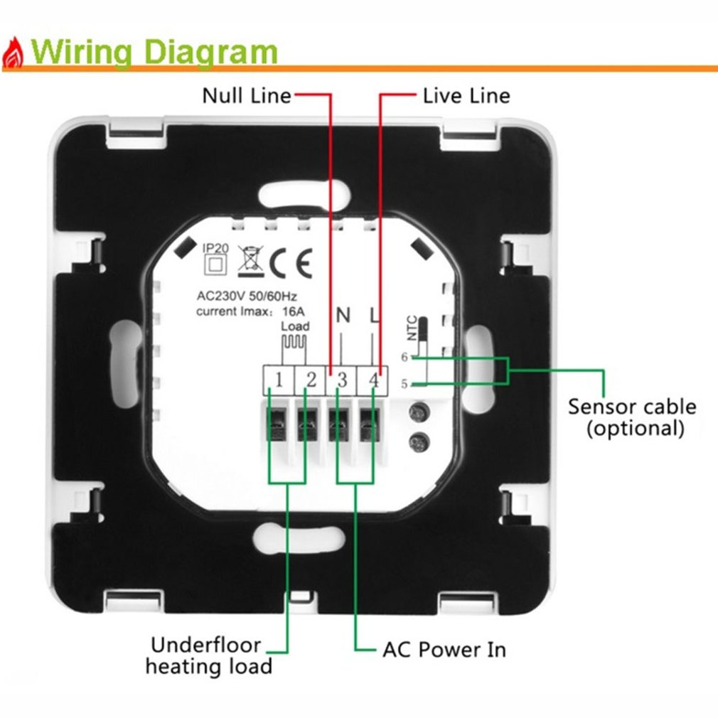 hight resolution of details about hy06bw programmable rotary switch smart digital heating floor house fg