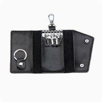 Genuine Leather Soft Men Women Car Key Coin Card Holder ...