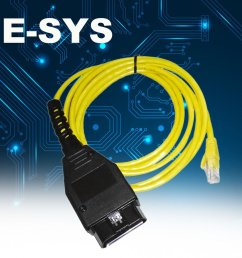 ethernet to obd interface cable e sys icom coding f series for bmw enet 2m xp [ 1010 x 1010 Pixel ]