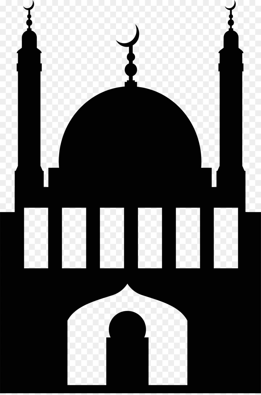 Logo Musholla Hitam Putih : musholla, hitam, putih, Masjid, Hitam, Putih, Paimin, Gambar
