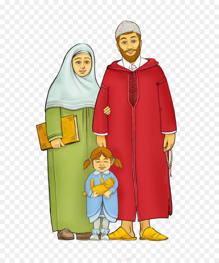 Keluarga Muslim Png : keluarga, muslim, Muslim,, Keluarga,, Islam, Gambar