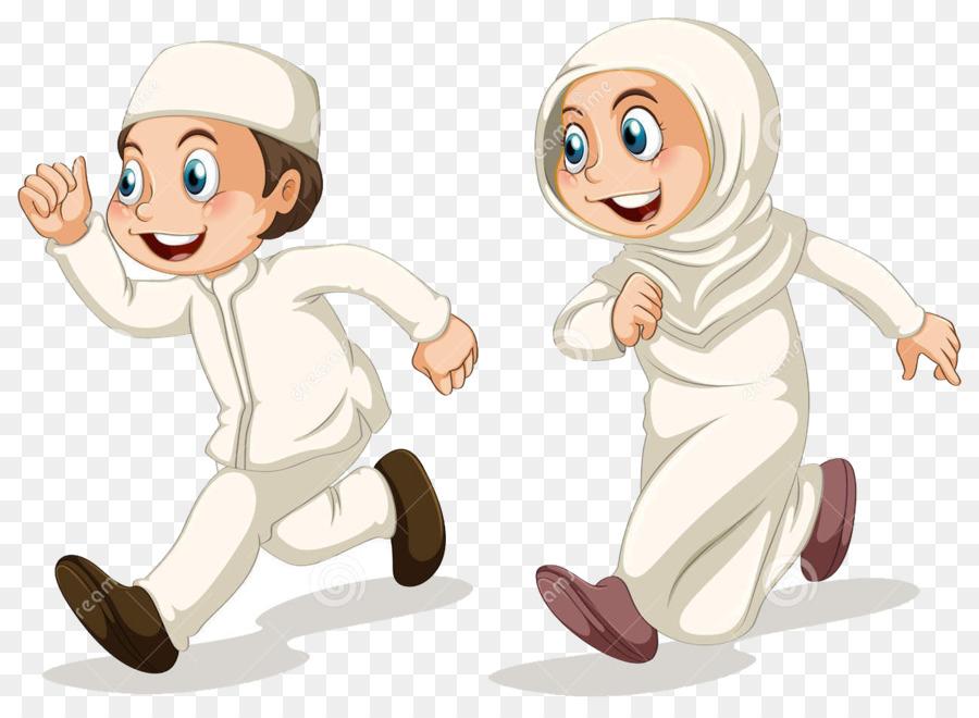 ✓ Terbaik Gambar Animasi Anak Muslim Png