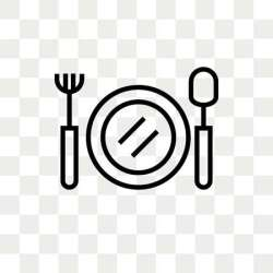 Food Vector Icon Isolated On Transparent #1558806 PNG Images PNGio
