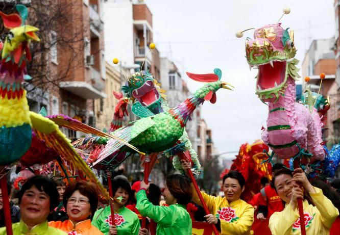 Resultado de imagen de usera año nuevo chino