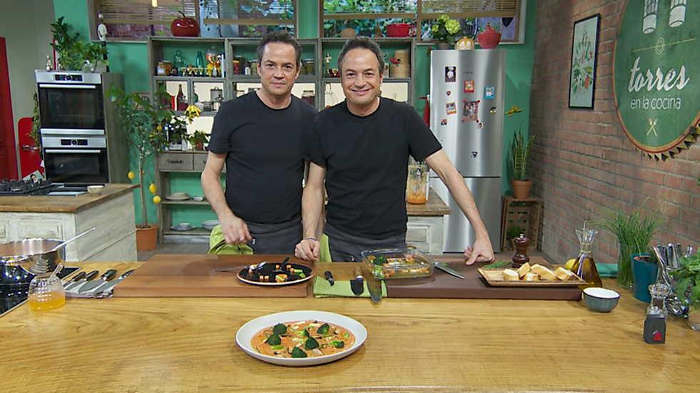 Torres en la cocina  Gazpacho y jarrete de ternera  RTVEes