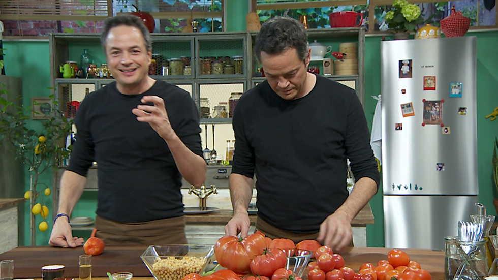Torres en la cocina  Tartar de tomates y albndigas  RTVEes