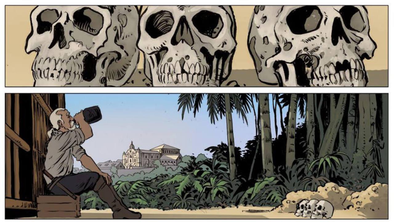 Viñetas de 'Espadas del fin del mundo'