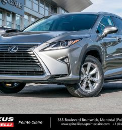 used 2019 lexus rx 350 awd navigation for sale in montreal demo 19l094 spinelli lexus pointe claire [ 1600 x 1066 Pixel ]