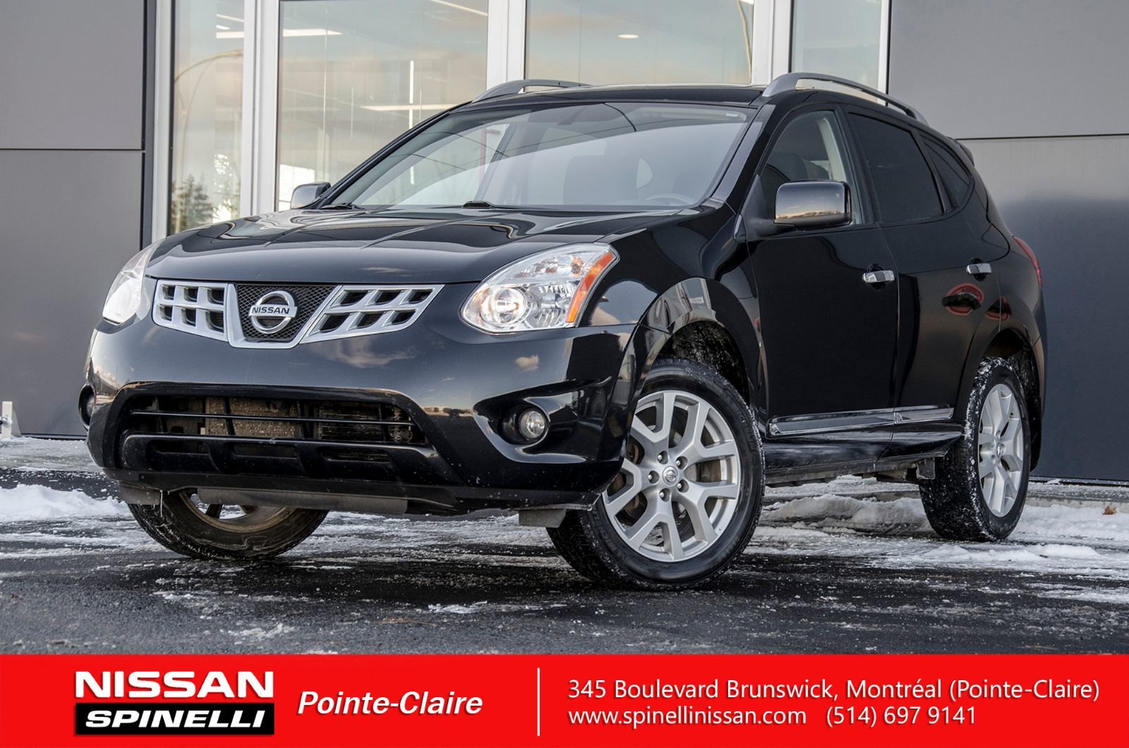 hight resolution of used 2011 nissan rogue sv for sale in montreal 170804a spinelli nissan