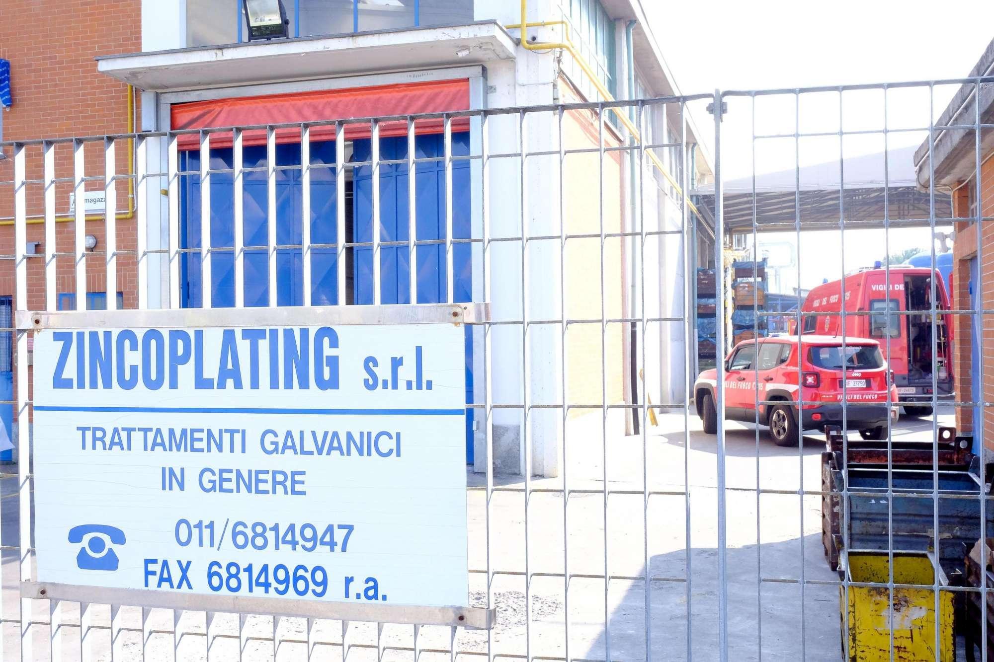 Torino, esalazioni in cisterna di acido cloridrico