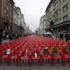Red Chairs Sarajevo Rolling Office Chair For Hardwood Floors Hundreds Of Bosnian War Criminals To Be Released And Retried