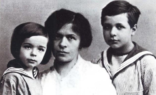 Albert Einstein's childhood nickname was 'the dopey one'