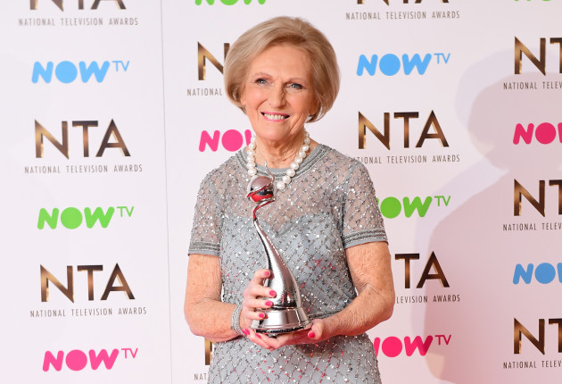 Mary Berry Celebrated Winning A Tv Award In The Best Way