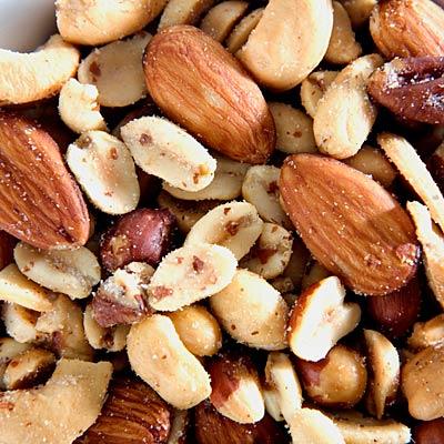 Mixed nuts - Burn Off Holiday Food - Health.com