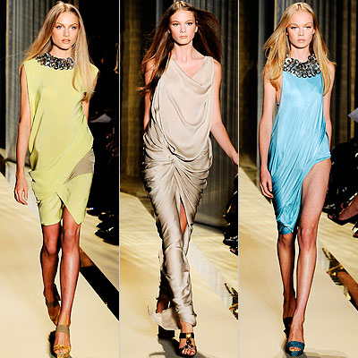 Donna Karan, Runway Report, Spring 2009, New York Fashion Week
