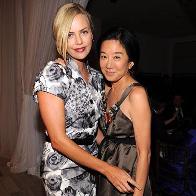 Fashion Week - Charlize Theron - Vera Wang
