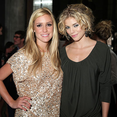 Kristin Cavallari and AnnaLynne McCord - Alice + Olivia - NY Fashion Week - Day 3