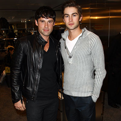 Ben Hollingsworth and Chace Crawford - D&G - NY Fashion Week - Day 1 - Fashion's Night Out