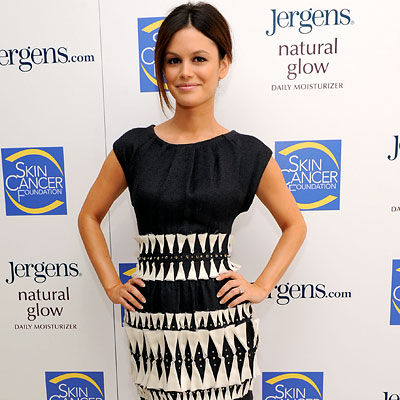 Rachel Bilson, Jergens Glow in the Dark launch, Los Angeles
