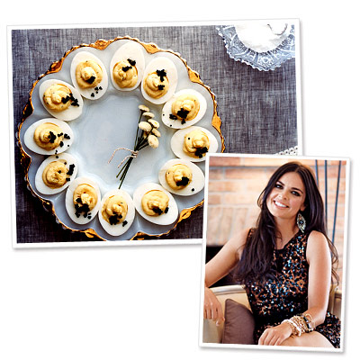 Katie Lee's Deviled Eggs