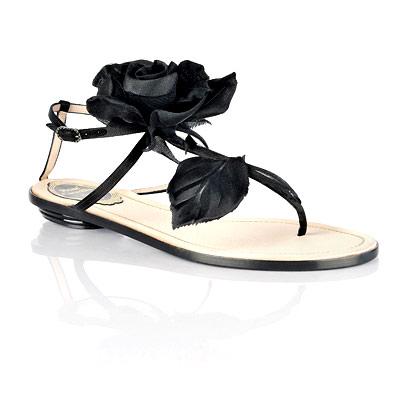 Réne Caovilla Rose Sandals