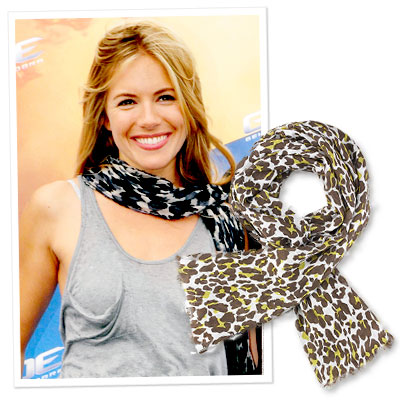Nicole Chavez Names 10 Things Every Woman Must Own - A Printed Scarf