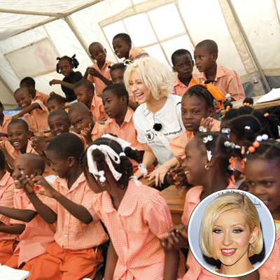 2010 Shining Stars - Christina Aguilera & World Food Programme