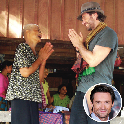2010 Shining Stars - Hugh Jackman & World Vision