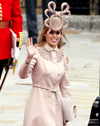 Princess Beatrice - Hottest Hats - Royal Wedding Coverage